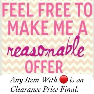 All reasonable offers are Welcome.......